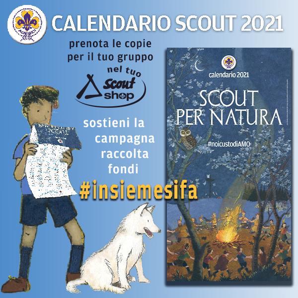 Calendario scout 2021 Fiordaliso